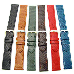 CONDOR-Flat-Lizard-Grain-Leather-Watch-Strap-177R-16mm-18mm-20mm