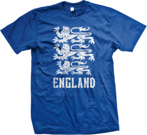 England Symbol English Distressed Country Born From Royal GBR GB Men/'s T-Shirt