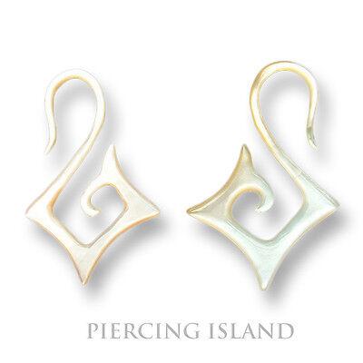 1 Paar Ohrringe Muschel Shell Earrings Piercing Design Schmuck 179