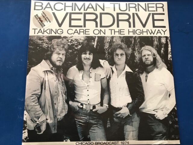 BACHMAN TURNER OVERDRIVE - LIMITED EDITION DOUBLE VINYL LP TAKING CARE ON THE