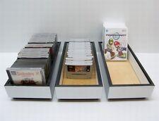 Design Aufbewahrungsbox für Video Spiele Module Musik CD DVD Blue Ray Sonstiges