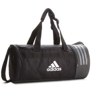 ea1ba516b70 Image is loading Adidas-Training-Bag-Convertible-Backpack-3-Stripes-Duffel-