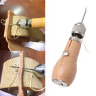 Leather Sail Tent Canvas Craft Hand Stitching Sewing Tools Waxed Thread Awl Kits