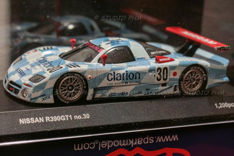 NISSAN R380 GT1 N° 32 NISSAN Motorsport CALSONIC 3° 24H du MANS 1998 1 43 KYOSHO