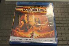 The Scorpion King 2: Rise of a Warrior (Blu-ray Disc, 2008) New no slip cover