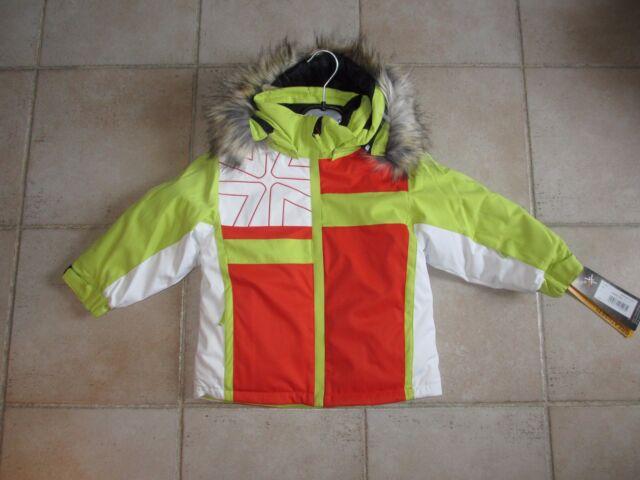 Veste blouson  ski  fille degré 7 neuve avec étiquettes taille 4 ans