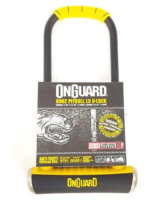 OnGuard Bike Lock 4.53 x 11.5-8002 4.53 x 11.5-8002 PITBULL LS