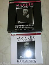 MAHLER The Symphonies HAITINK 10 CD Box PHILIPS CLASSICS