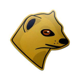 """OpenEuphoria Mongoose 3"""" Laptop Stickers"""