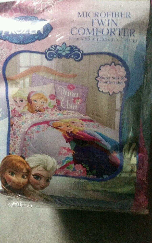 Frozen Elsa Anna Olaf Summer Breeze Twin taille unique couette Sheet Set