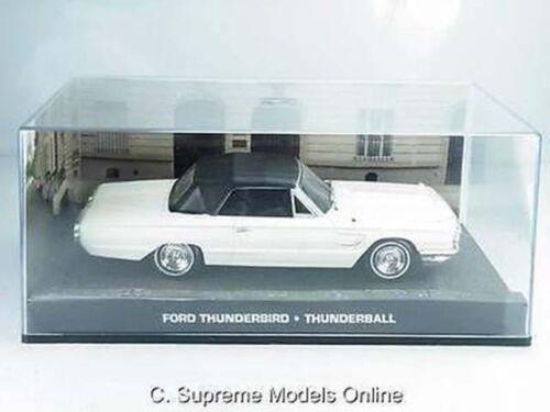 {} FORD Thunderbird modello auto scala 1//43RD Bianco//Nero 2 PORTE VERSIONE PKD R 0154 x
