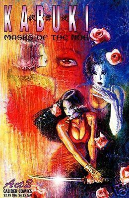 KABUKI MASKS OF THE NOH # 2 VG (Caliber Press, 1996) original Comic Book