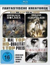 SHERLOCK HOLMES / DREAMS OF THE SLEEPWALKER / CONJURER - BLU RAY DISC - 3 FILME