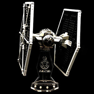Acryl-Display-Stand-Acrylglas-Standfuss-fuer-LEGO-9492-Tie-Fighter