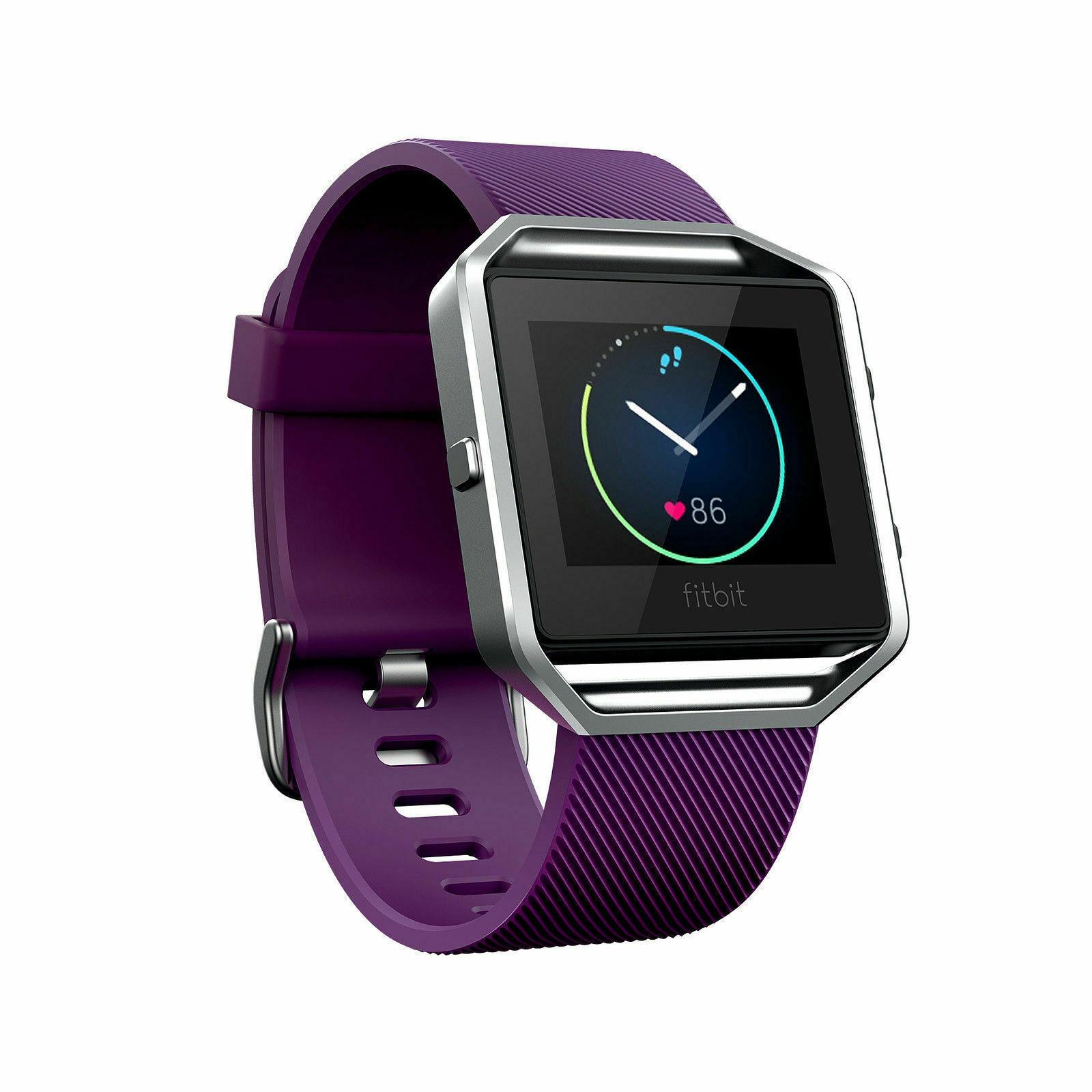 Fitbit Blaze Smart Fitness Watch Small Plum Model FB502SPMS