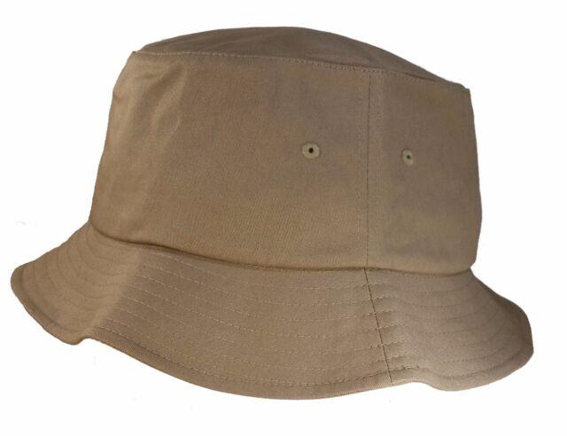 1e72c4bebe4 Big Size 3xl 4xl Khaki Flexfit® Bucket Hat Xxxl xxxxl BIGHEADCAPS ...