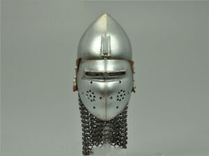 COOMODEL SE067 1//6 SERIES OF EMPIRES Knight of Bachelor Alloy Chain Head Armor