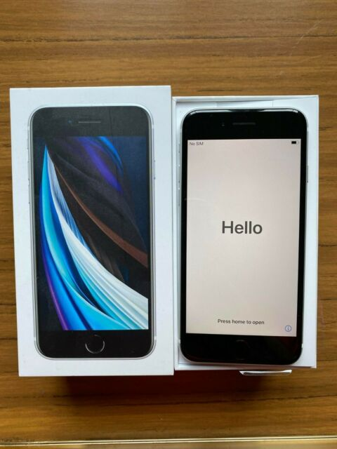 Apple iPhone SE 2nd Gen. - 64GB - White (Unlocked) A2296 ...