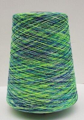 Farbverlauf Polyester • BUNT • Strickmaschine Strickwolle Garn Kone 31