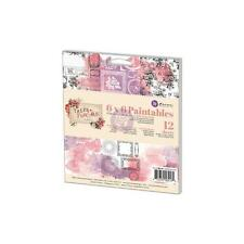 """PRIMA """"Tales of You & Me"""" 6""""x6"""" Paintables Watercolor Paper Pad - 12- 6 Printed"""