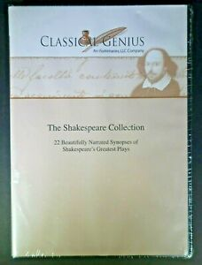The-Shakespeare-Collection-Classical-Genius-2007-CD-SEALED