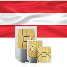 Österreich Daten SIM + 2000 MB für 30 Tage