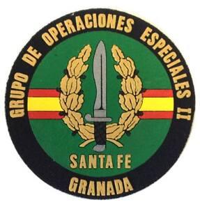 Parche-plastico-GOE-II-SANTA-FE-Granada-grupo-Operaciones-especiales