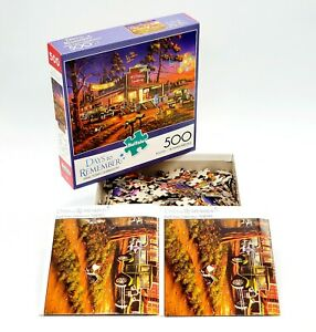 Buffalo-Games-Small-Town-Celebration-500-PC-Jigsaw-Puzzle-03690-Veterans-Day