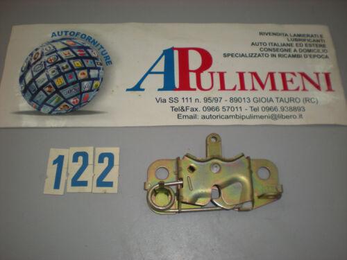 37-98 SERRATURA COFANO ANTERIORE ALFA-ROMEO ALFETTA 74