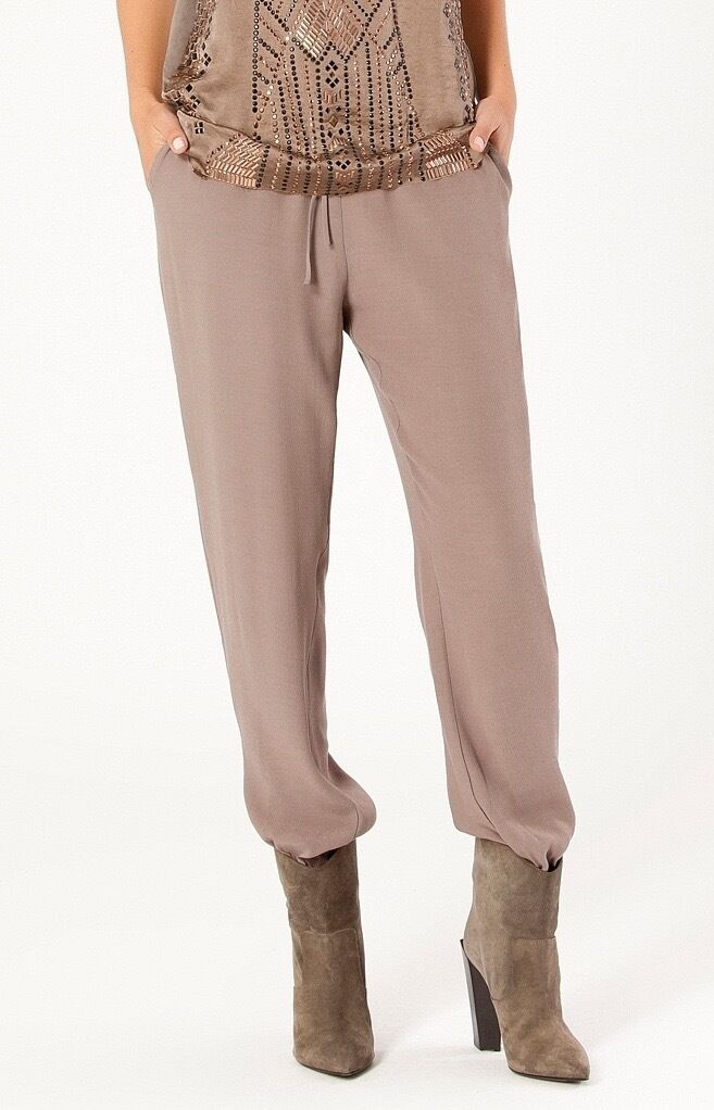 Hale Bob Solid Satin Jogger Pants   Ankle Zip XXS XS S NWT 5AED8260