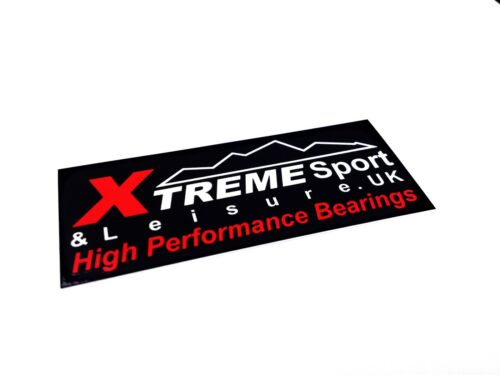4 Pack Xtreme CLASSIC 608 zz 8x22x7SUPER SMOOTH BEARINGS SCOOTER PACK STICKER
