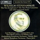 Stenhammar Jarvi 2 Symphonies 2 Piano Concertos CD