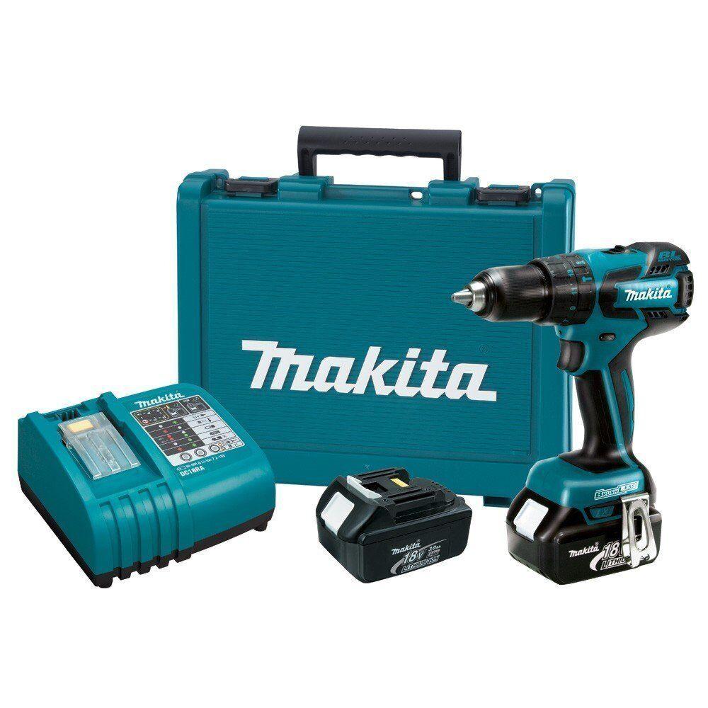 MAKITA 18v Drill  18 VOLT lith-ion lxph01 hammerdrill hammer drill driver kit