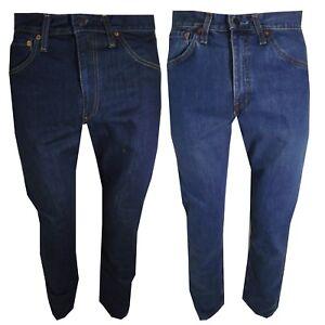 574adf8d88 levis 505 jeans da uomo W27 28 29 30 Pantaloni Levi's vita alta ...