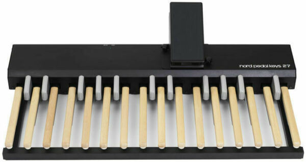 nord pk27 pedal keys 27 bass key midi pedalboard for c2 digital organ for sale online ebay. Black Bedroom Furniture Sets. Home Design Ideas