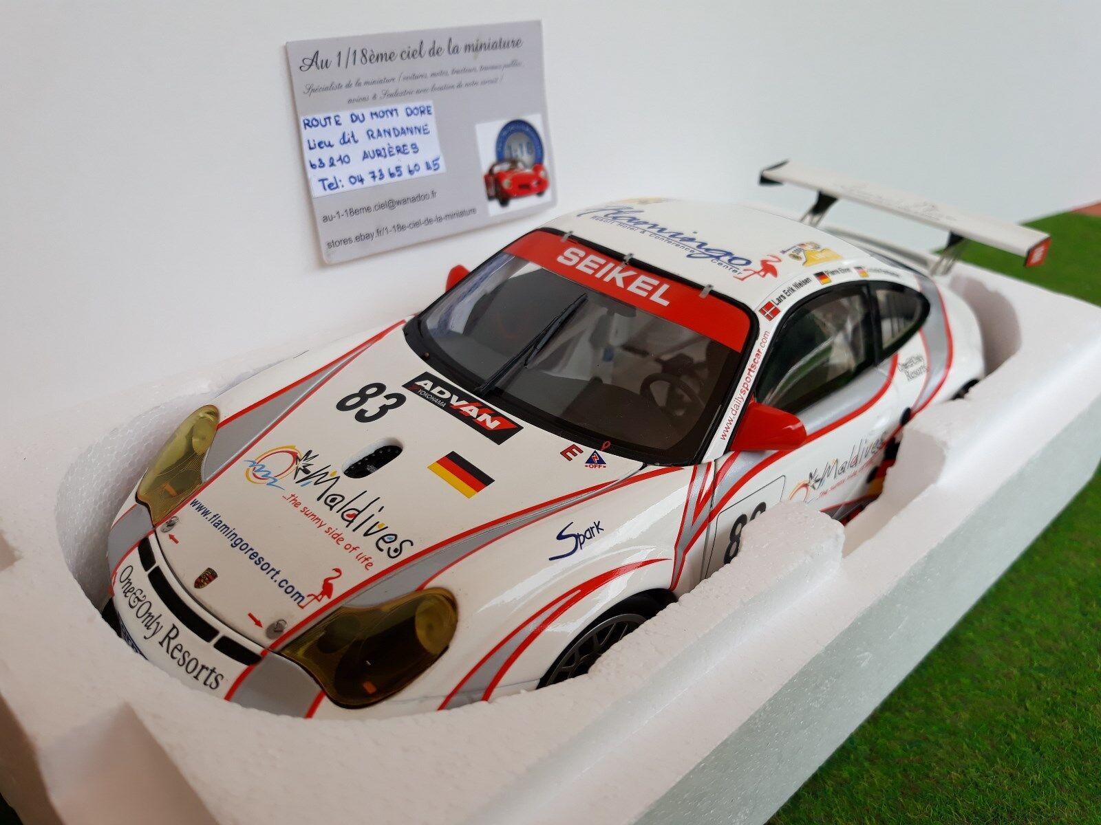 PORSCHE 911 GT3 RSR 996 24H LE MANS 2006 SEIKEL   83 o 1 18 MINICHAMPS 100066483