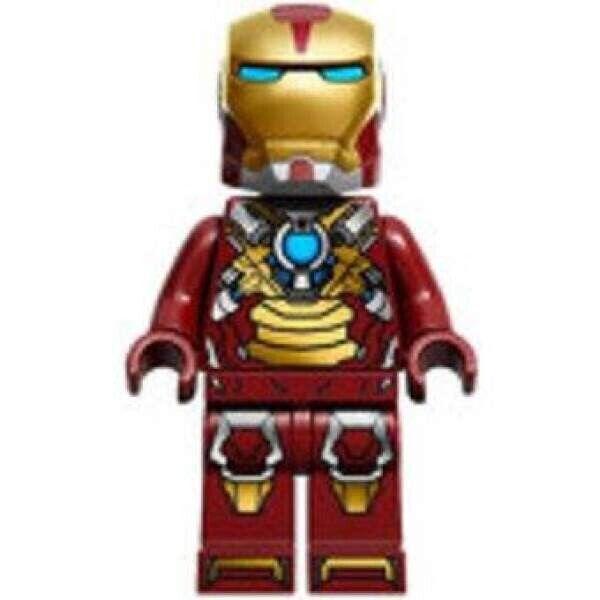 LEGO SH073 Iron Man Heart Breaker Minifigure Marvel Comics ...