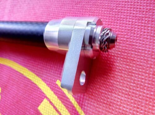 Easy Wheel Ti Extender for Brompton Bicycle Frame easy pulling Roll Extension