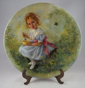Reco-Coleccionista-Placa-039-Little-Miss-Muffet-039-por-John-Mcclelland-Mother-Goose