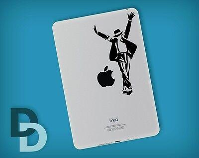 Michael Jackson iPad mini decal / Notepad sticker / Tablet decal stencil