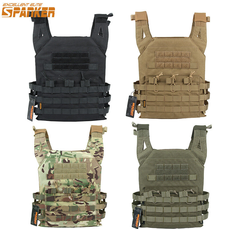 Tactical JPC Vest Molle Plate Carrier Military Hunting Vest  Paintball Combat  presenting all the latest high street fashion