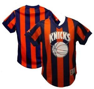 New York Knicks Mens Sizes XS-M-L Mitchell & Ness V-Neck Shirt Jersey