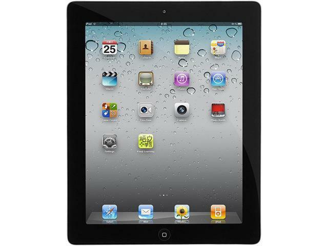 "Apple iPad 2 16 GB Flash Storage 9.7"" Tablet PC (Wi-Fi) iOS Space Gray"