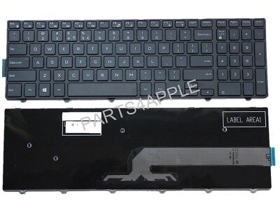 For US Keyboard Dell Inspiron 0KPP2C 0JYP58 NSK-LR0BW 01 9Z.NBBLD.A01 Frame