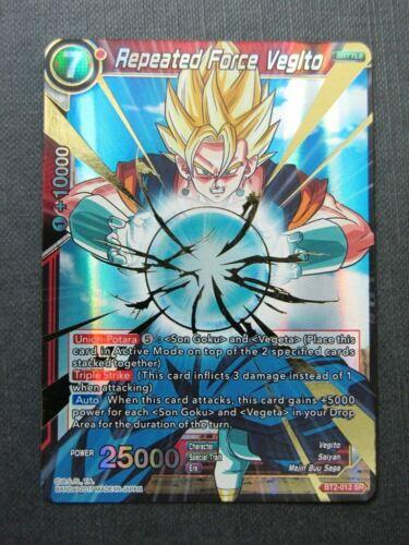 Dragon Ball Super Cards #TT Repeated Force Vegito SR