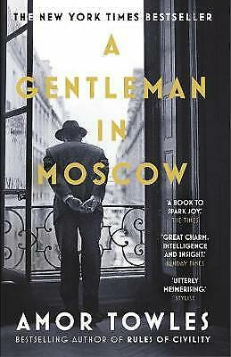 A Gentleman in Moscow by Amor Towles Book NEW & Free Post AU