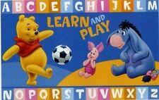 Tappeto camera letto bambini DISNEY con WINNIE POOH gioca a calcio