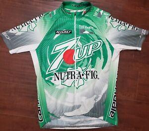 Cannondale-Men-039-s-7up-Pro-Race-Cycling-Bike-Jersey-Medium-Nutrafig-Ritchey-Velo