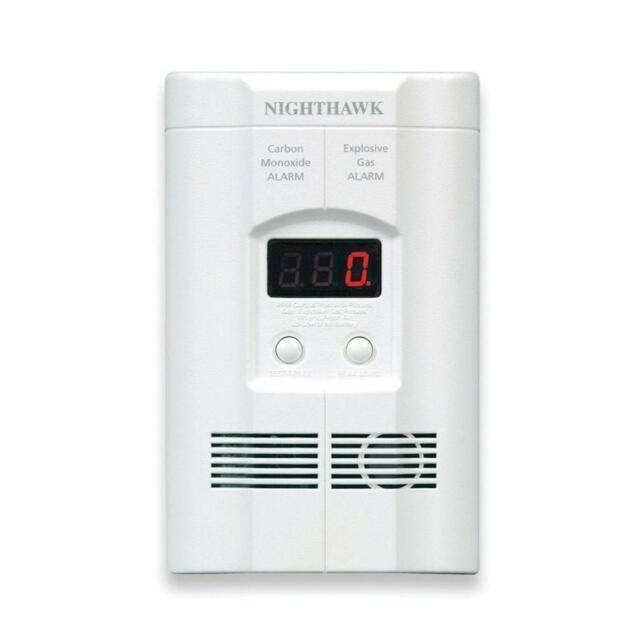 Kidde Nighthawk COEG-3 Explosive Gas & Carbon Monoxide Alarm