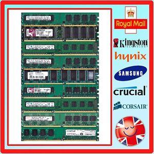 Desktop-Non-ECC-DDR2-Unbuffered-Memory-Modules-Various-Brands-Speeds-Capacities